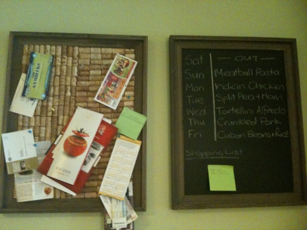 Cork and Chalk Boards