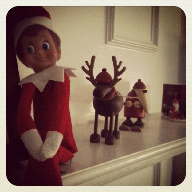 Elf on the Shelf 11/26/2012