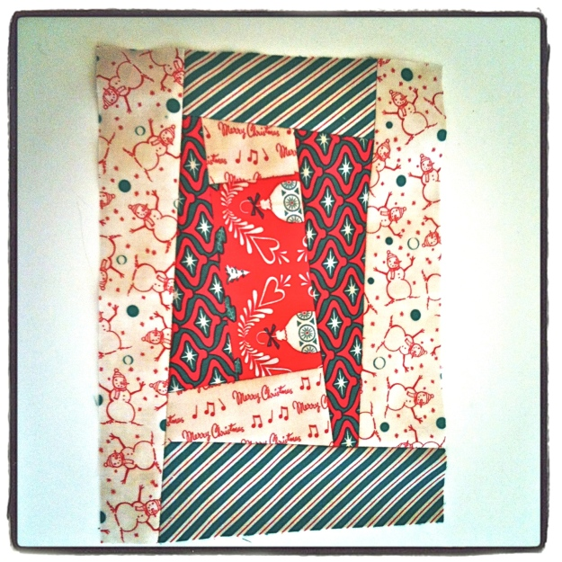 Rectangle Christmas Block