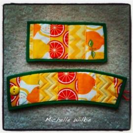 OrangeLemonSleeveCoaster