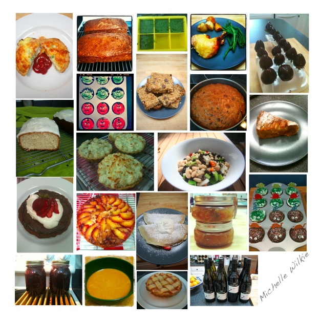 2012 Edible Delights Collage