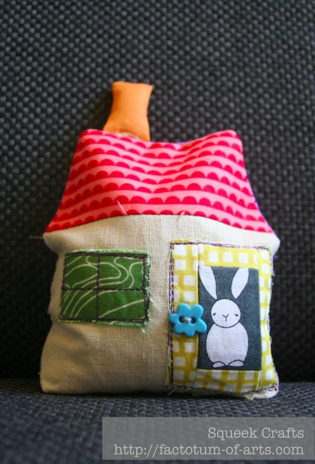 House Pin Cushion