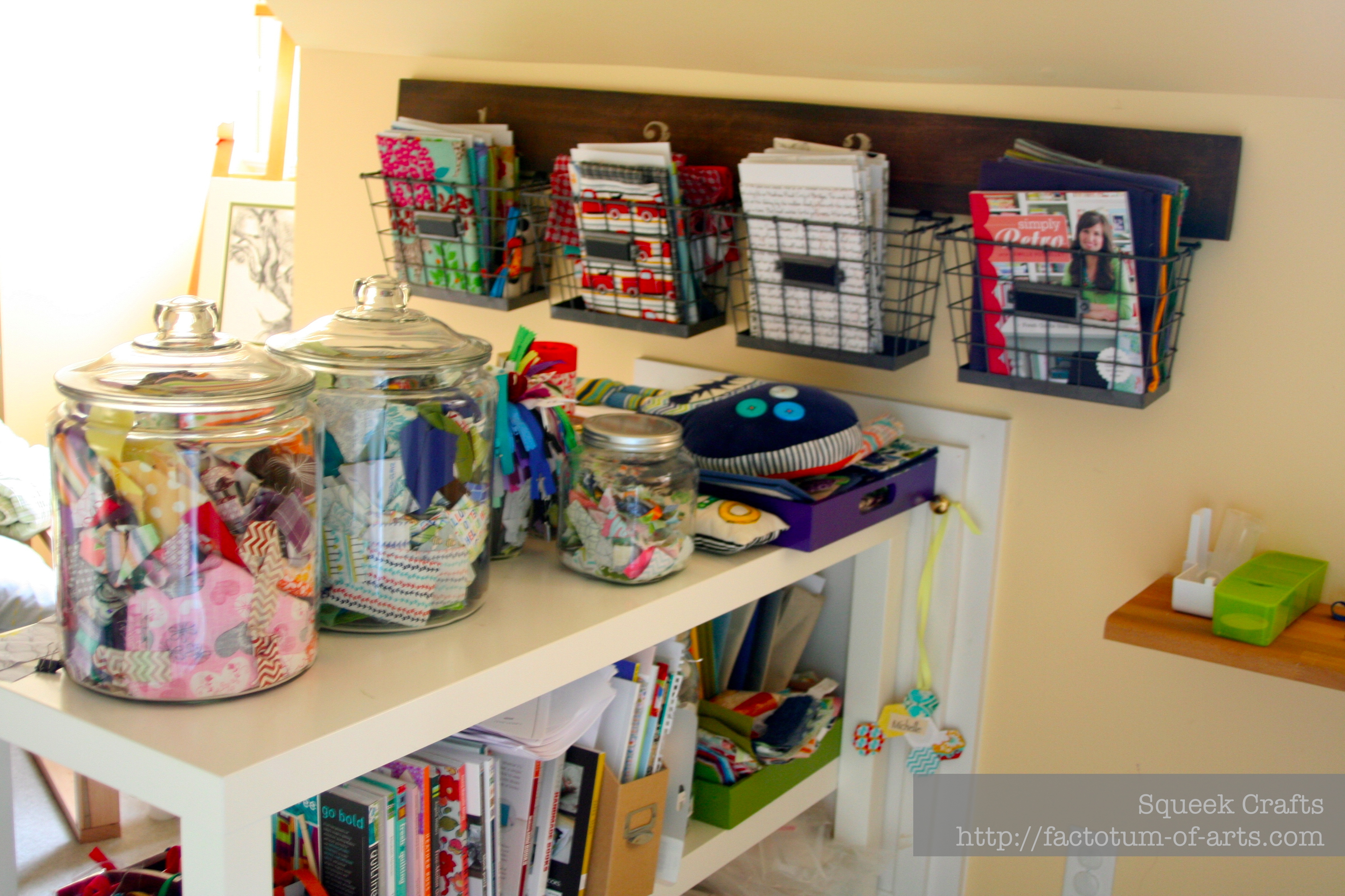 organizing my sewing room | factotum of arts