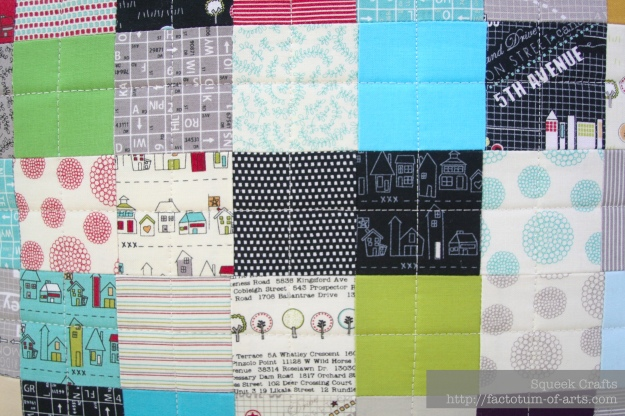PostageStampCushion_Road15Quilting