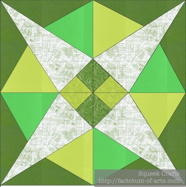 GreenTapaClothStar
