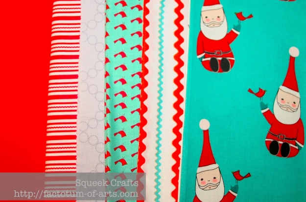 ChristmasStockingFabric