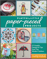 Playful little paper pieced projects