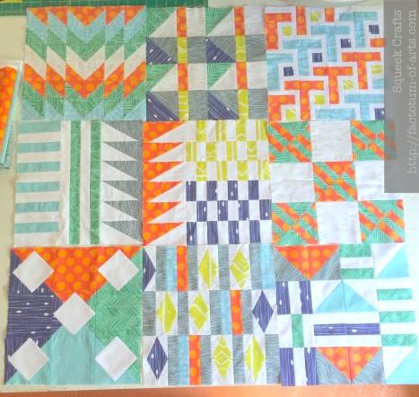 Sample Quilt Blocks Complete