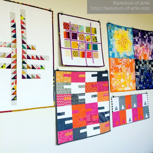 Mini Wall Hanging Quilts
