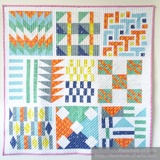 Spoonflower Sampler Quilt