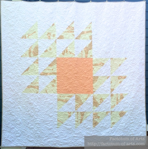 Fly Away Quilt Front