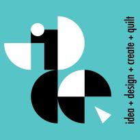 IDCQ_Logo_B+W_onPMS124-5_vert copy